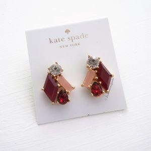 Kate Spade Crystal Stone Studs